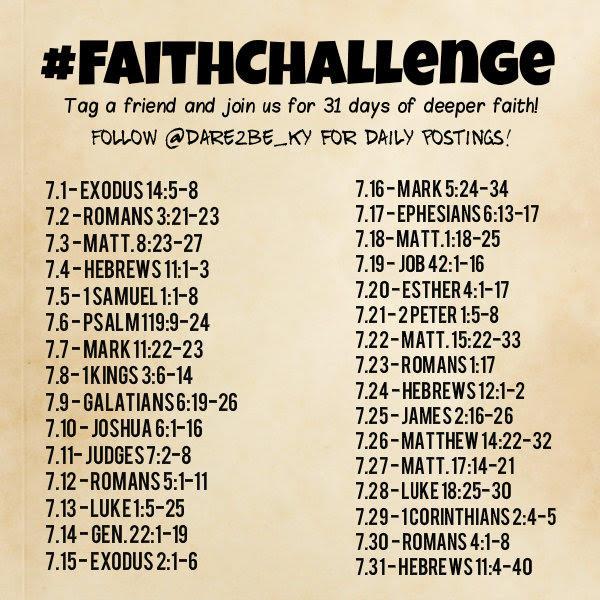 The Faith Challenge